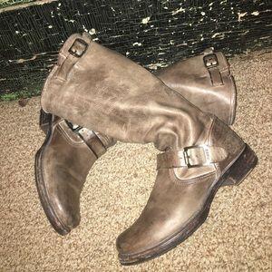 FRYE Veronica Slouch boots! EUC
